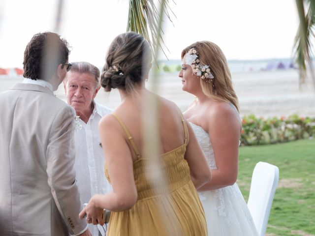El matrimonio de Andrés y Tatiana en Cartagena, Bolívar 16