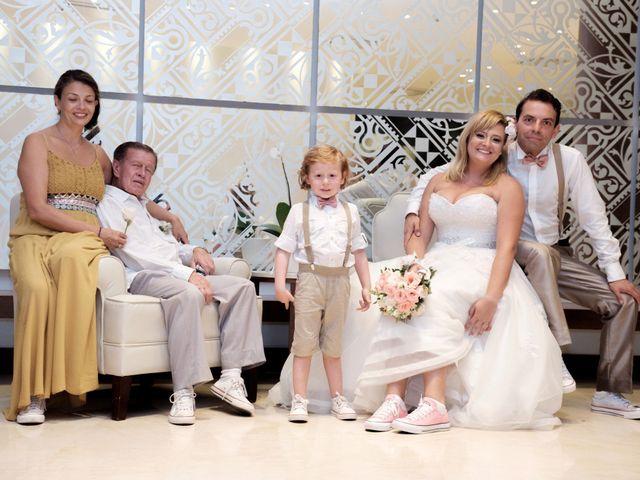 El matrimonio de Andrés y Tatiana en Cartagena, Bolívar 34
