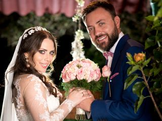 El matrimonio de Karelya y Plinio