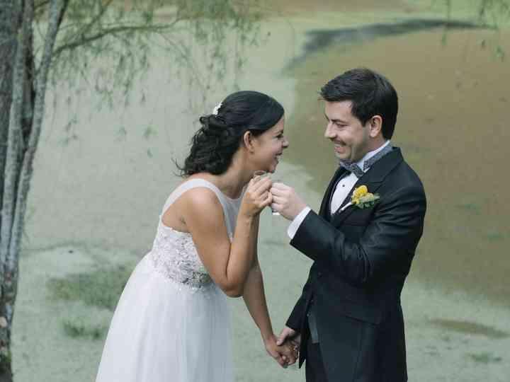 El matrimonio de Angélica y Nicolás