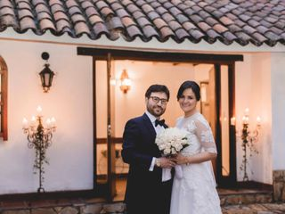 El matrimonio de Claudia y Alejandro