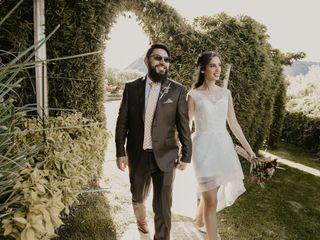 El matrimonio de Maye y Luis