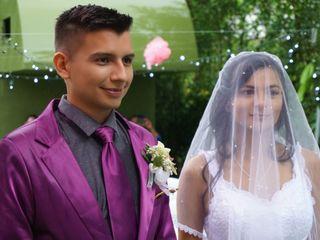 El matrimonio de Johanna  y Oscar