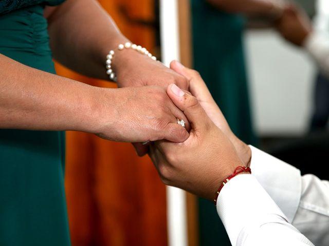 El matrimonio de Cristian y Ángela en Bogotá, Bogotá DC 2