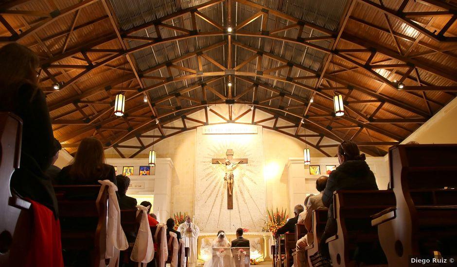 El matrimonio de Cristian y Ángela en Bogotá, Bogotá DC