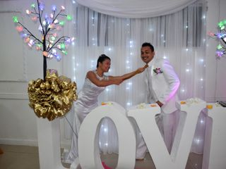 El matrimonio de Jesus Venegas y Sandra Castillo