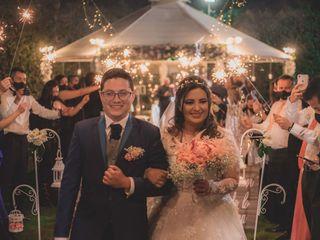 El matrimonio de Alejandro y Wendy