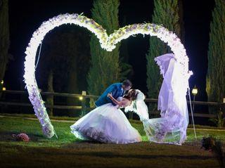 El matrimonio de Claudia y Jean Paul