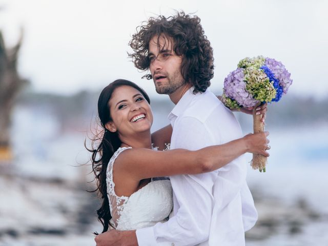 El matrimonio de Biviana y Dario