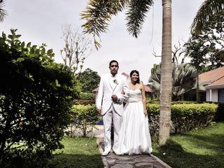 El matrimonio de Lorena y Iván