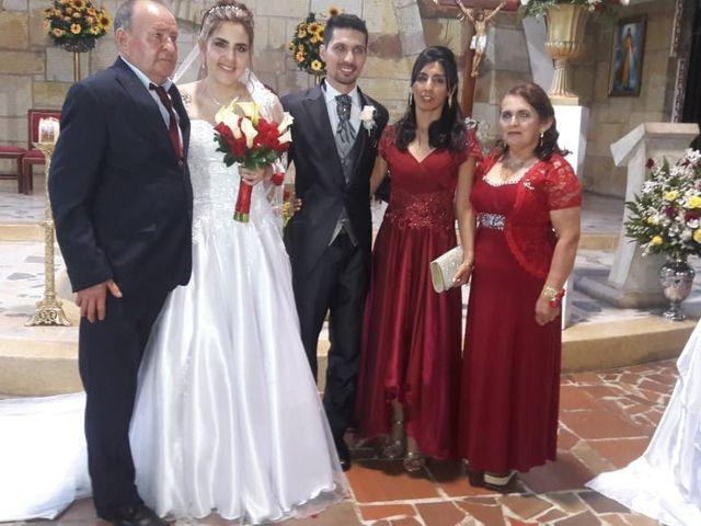 El matrimonio de John Edinson  y Nydia Stella  en San Gil, Santander 2