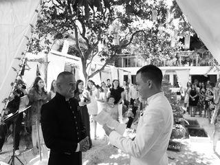 El matrimonio de Julián y Andrés
