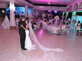 El matrimonio de Afid y Claudia