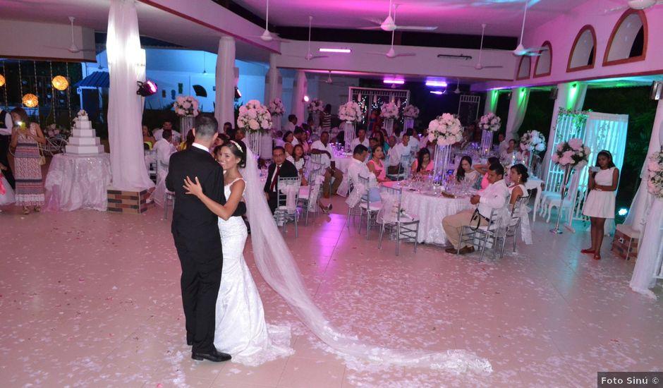 El matrimonio de Claudia y Afid en Montería, Córdoba