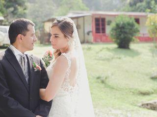 El matrimonio de Adriana y Alex