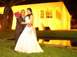 El matrimonio de Viviana Garavito y Edwin Torres