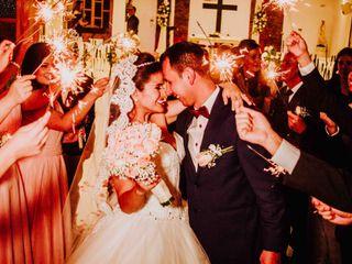 El matrimonio de Gina  y Camilo