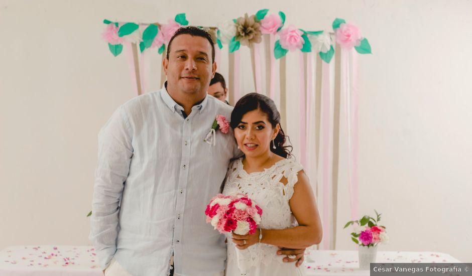 El matrimonio de Jesus y Adriana en Cartagena, Bolívar
