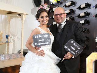 El matrimonio de Jennifer y  Javier 1
