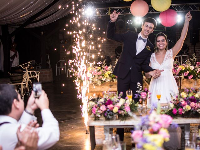 El matrimonio de Luisa y Mathieu