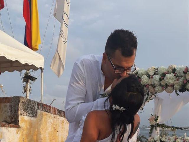 El matrimonio de Francis  y Alejandra  en Cartagena, Bolívar 1
