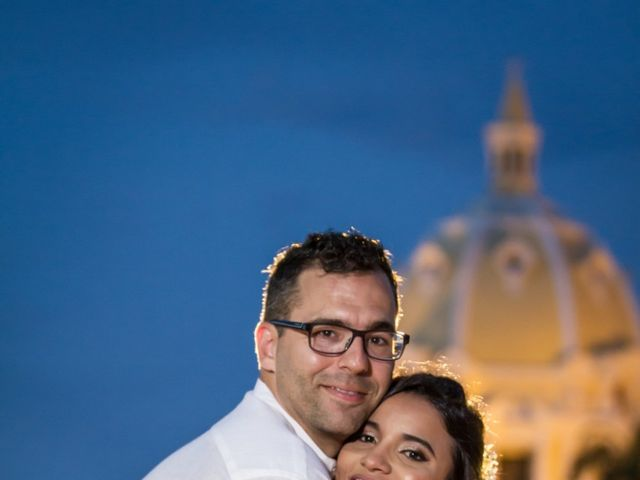 El matrimonio de Francis  y Alejandra  en Cartagena, Bolívar 13