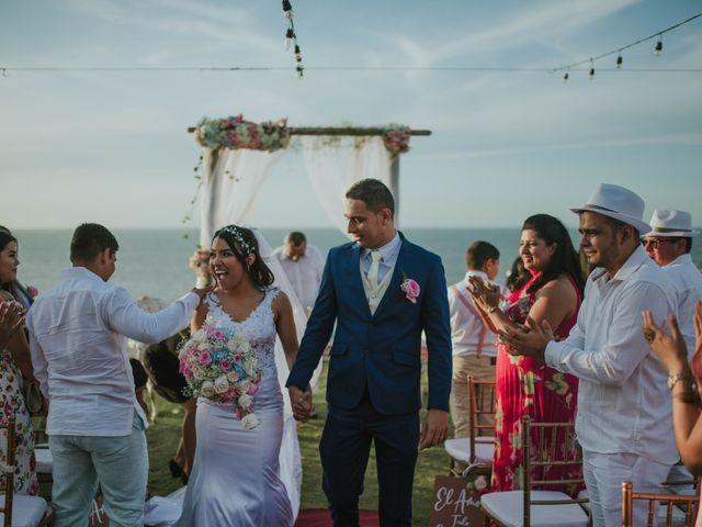 El matrimonio de Jaime  y Yuranys  en Puerto Colombia, Atlántico 92