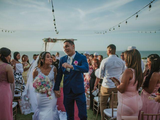 El matrimonio de Jaime  y Yuranys  en Puerto Colombia, Atlántico 94