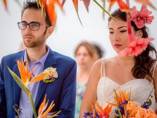 El matrimonio de Victoria y Flavio 1