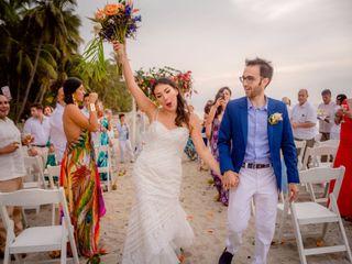 El matrimonio de Victoria y Flavio 2