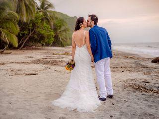El matrimonio de Victoria y Flavio 3