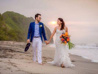 El matrimonio de Victoria y Flavio