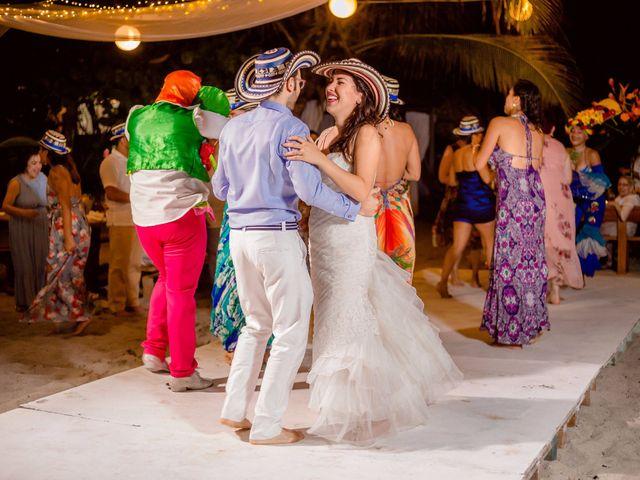 El matrimonio de Flavio y Victoria en Santa Marta, Magdalena 18