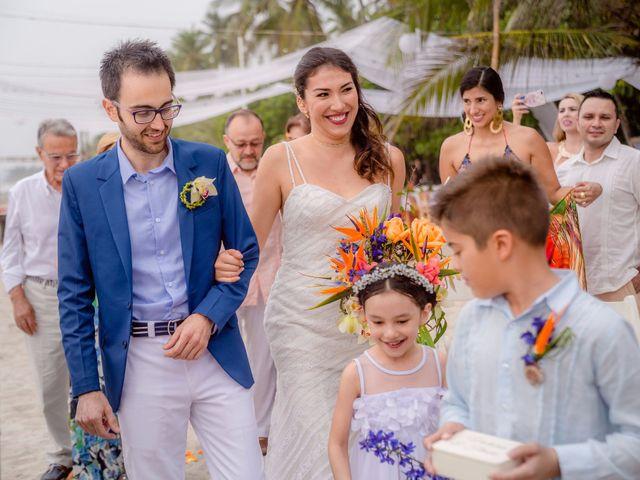 El matrimonio de Flavio y Victoria en Santa Marta, Magdalena 1