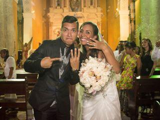 El matrimonio de Laura y Fernando