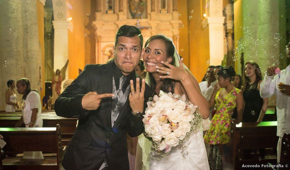 El matrimonio de Fernando y Laura en Cartagena, Bolívar