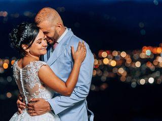 El matrimonio de Luciana y Milton