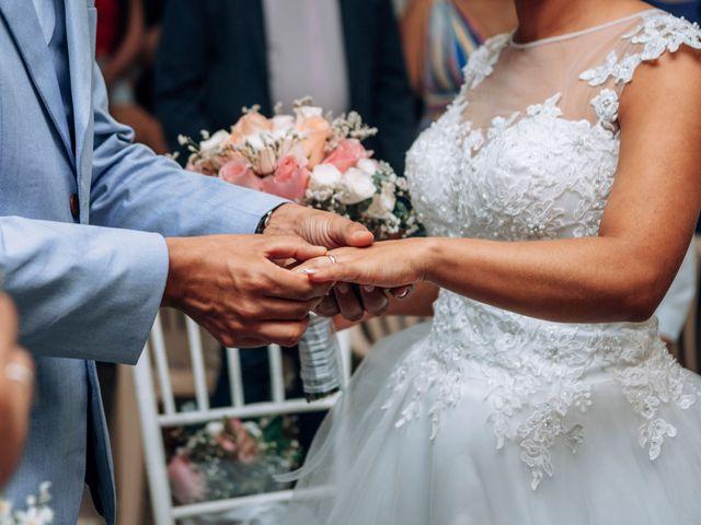 El matrimonio de Milton y Luciana en Chinchiná, Caldas 43