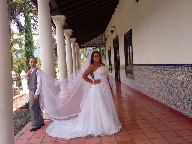 El matrimonio de Andrea y Jorge Mario