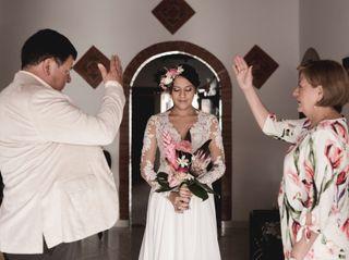 El matrimonio de Elizabeth  y David  1