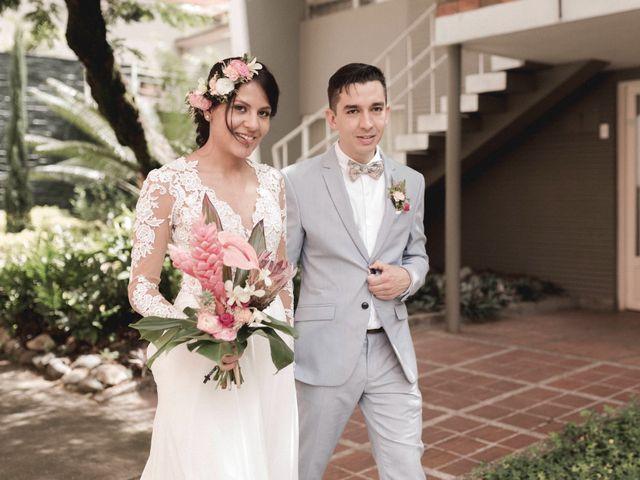 El matrimonio de Elizabeth  y David