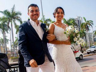 El matrimonio de Lina Alvernia y Rafael Villa 1