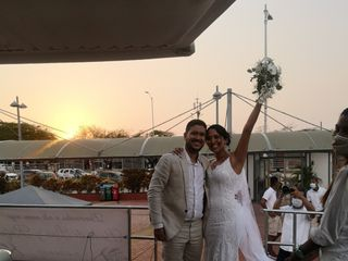 El matrimonio de Lina Alvernia y Rafael Villa 2