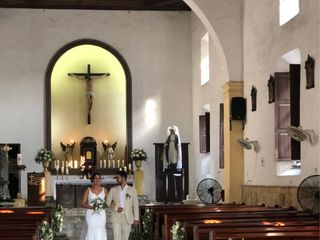 El matrimonio de Lina Alvernia y Rafael Villa 3