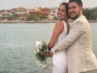 El matrimonio de Lina Alvernia y Rafael Villa