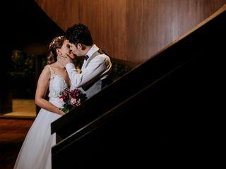 El matrimonio de Wanda y Felipe