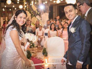 El matrimonio de Sindy  y Robinson