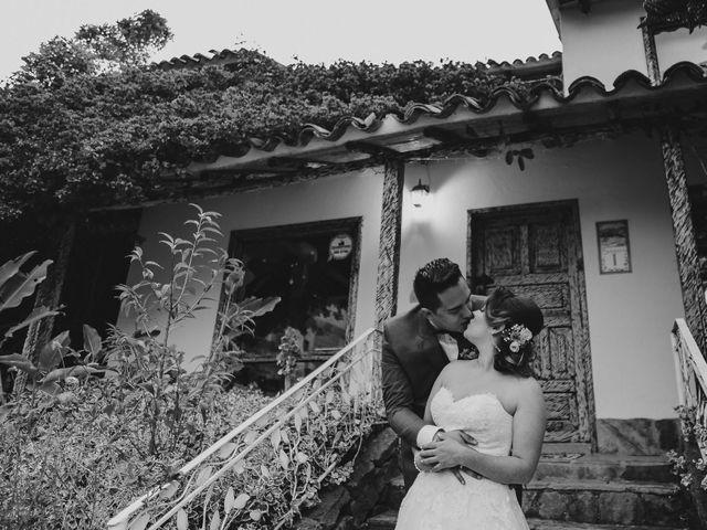 El matrimonio de David y Marcela