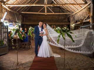 El matrimonio de Keyli y Omar Alexis