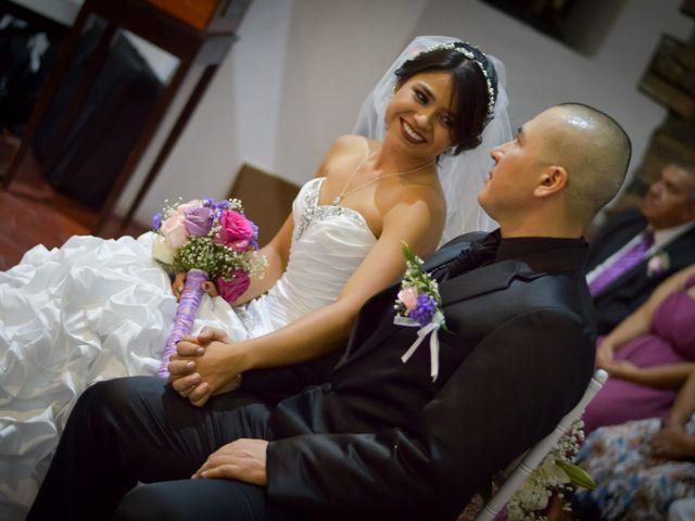 El matrimonio de Andrea y Víctor